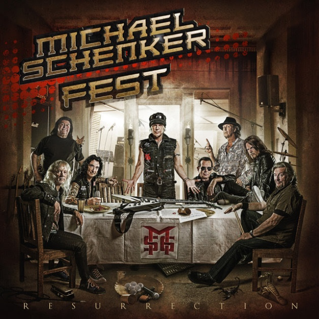 Michael Schenker Fest Resurrection Cover