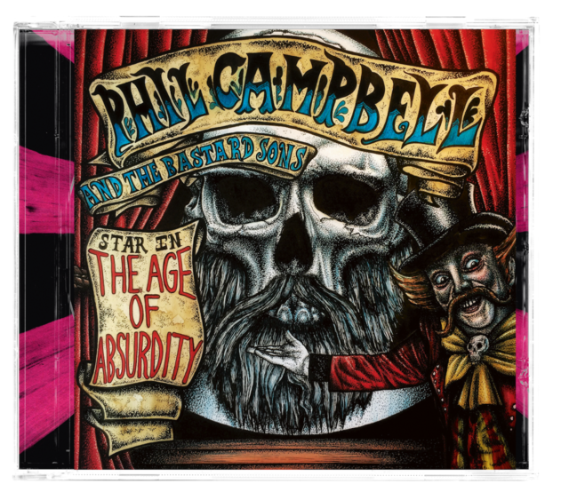 Phil Campbell and the Bastard Sons Album Art