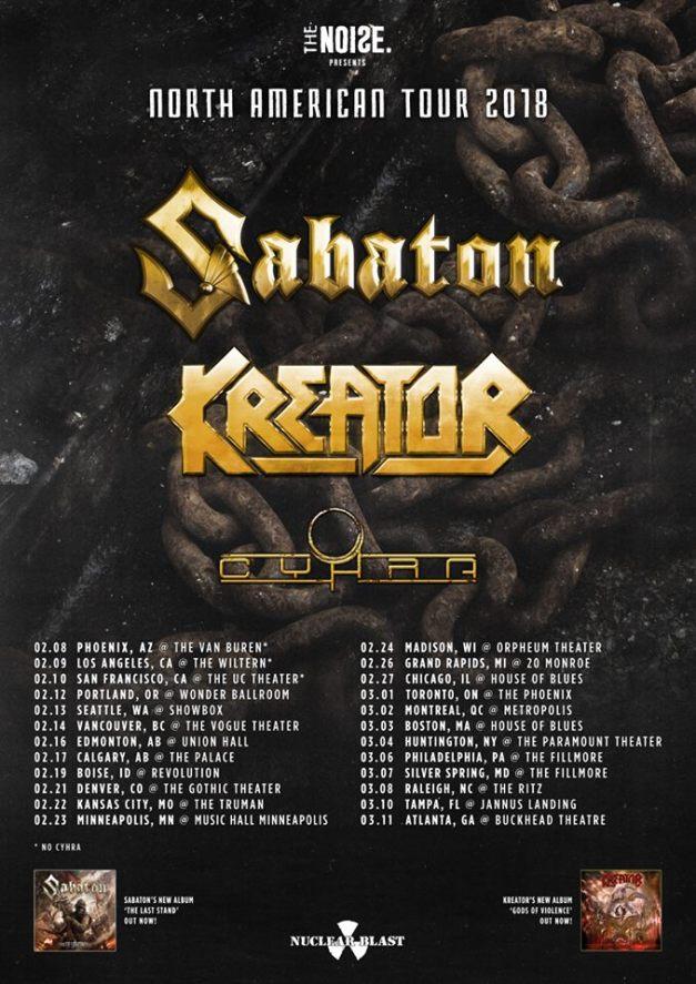 Sabaton-Kreator-Cyhra-tour