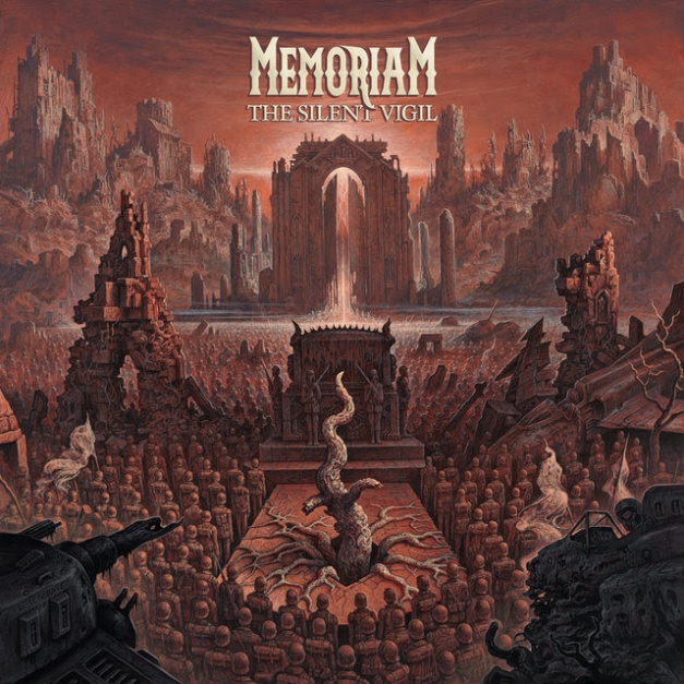 Memoriam The Silent Vigil Cover Art