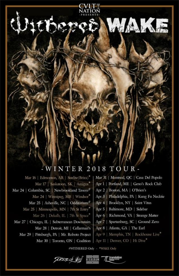 Withered-tour