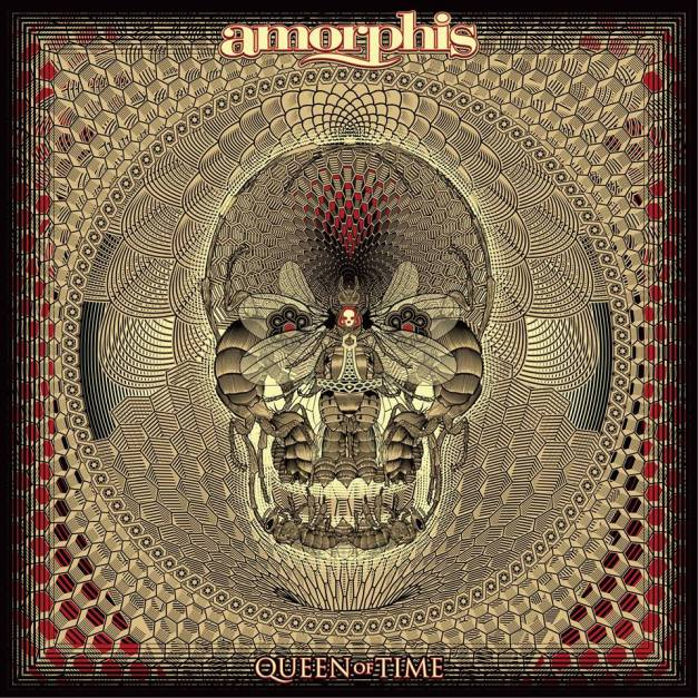 Amorphis Queen Of Time Cover Art
