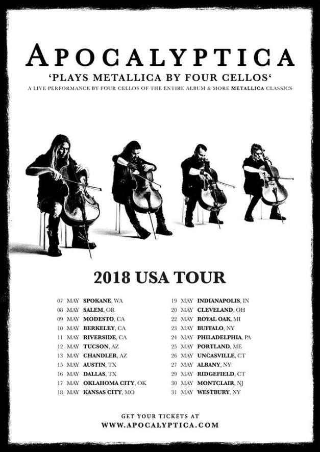 APOCALYPTICA-US-tour