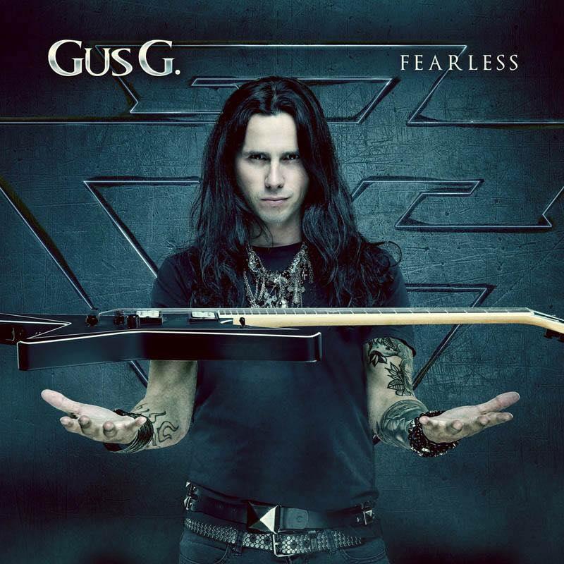Gus G Fearless Cover Art