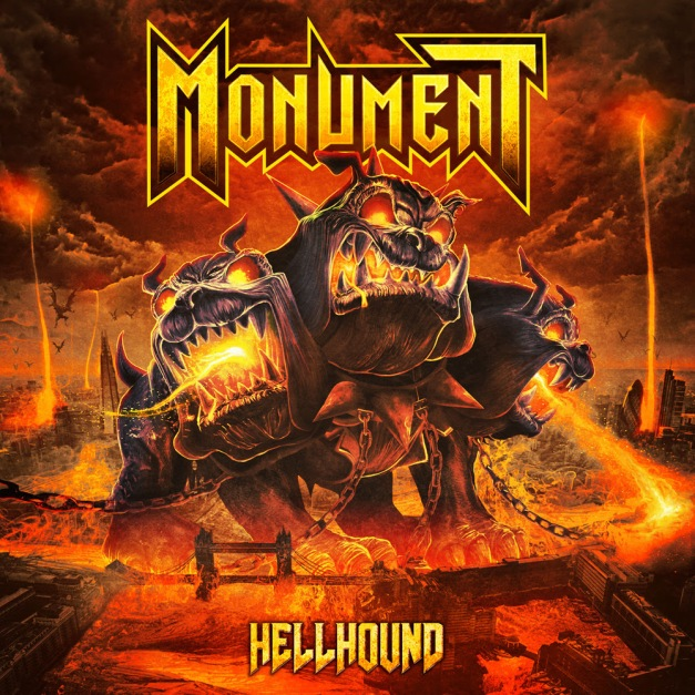 Monument Hellhound Cover Art