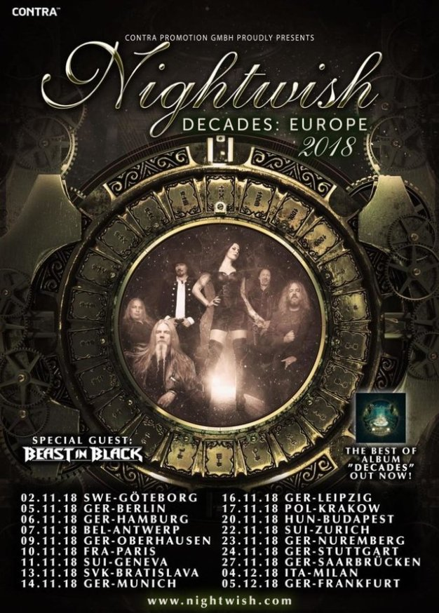 Nightwish-Decades-Euro