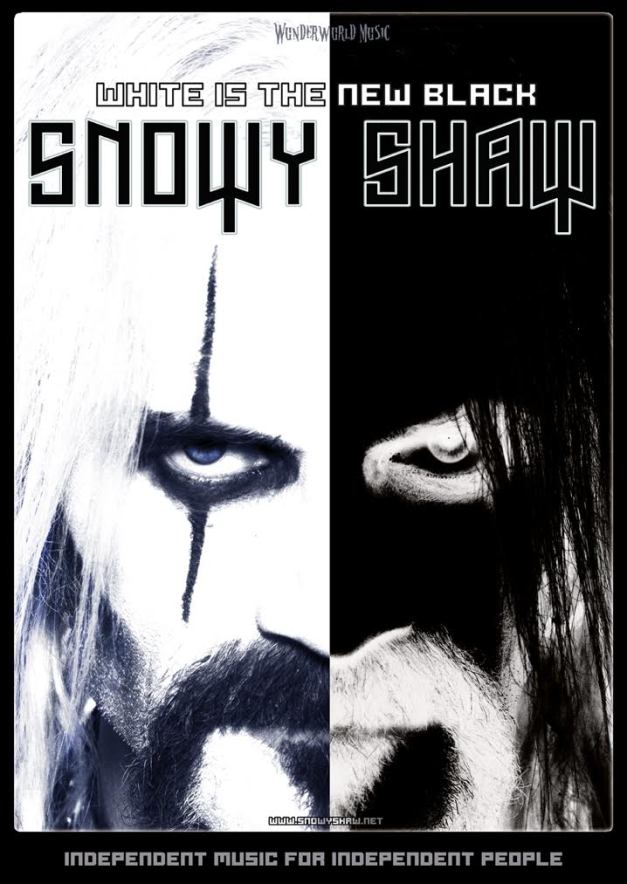 Snowy Shaw White Is The New Black Cover Art