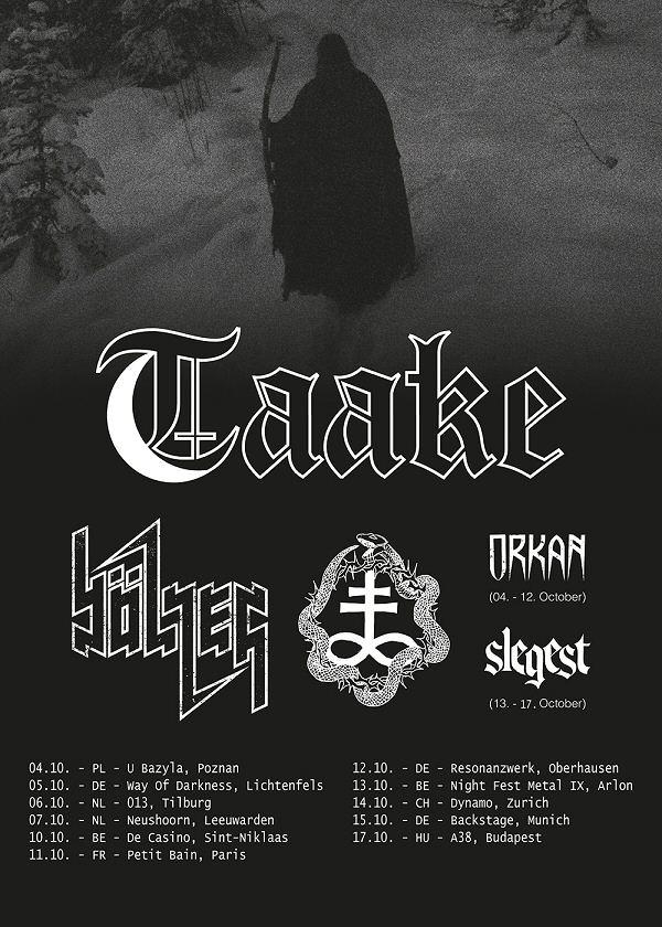 Taake-euro-tour