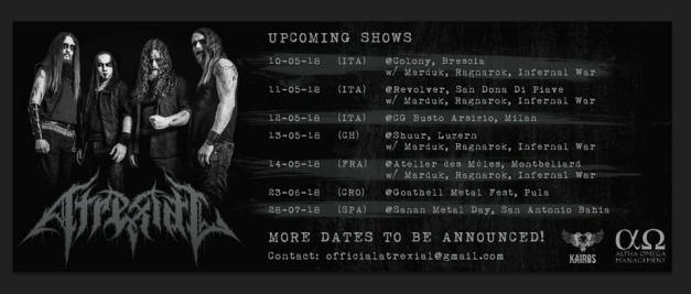 ATREXIAL-upcoming shows-2018