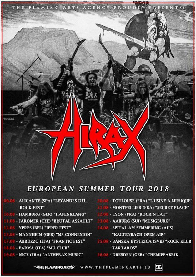 Hirax-euro-2018-tour
