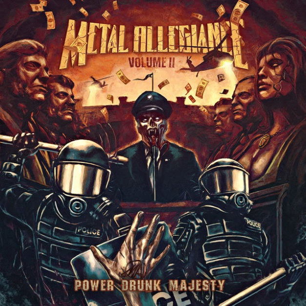 Metal Allegiance Power Drunk Majesty Cover Art
