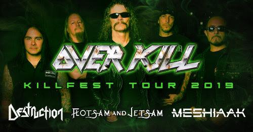 Overkill Killfest Tour 2019