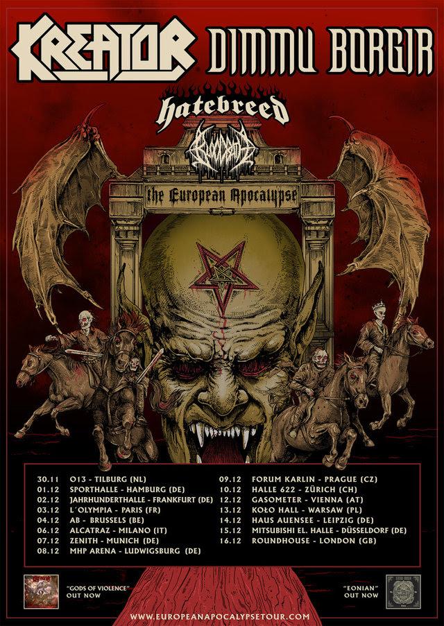 The European Apocalypse Tour 2018