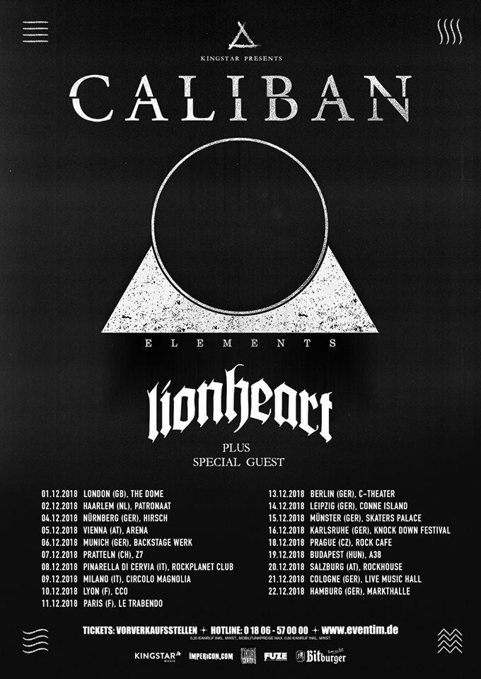 Caliban-Lionheart-tour
