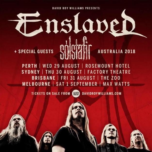 Enslaved-Solstafir-Australia