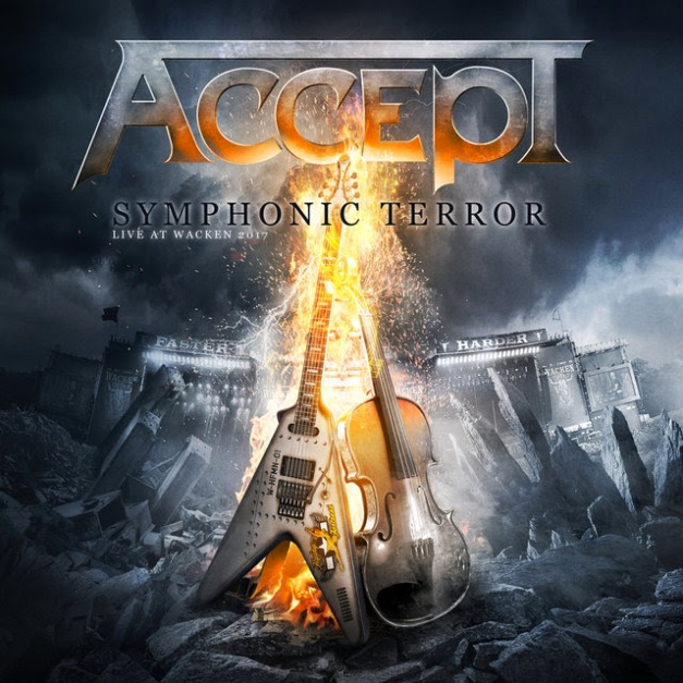 Accept Symphonic Terror Cover Art