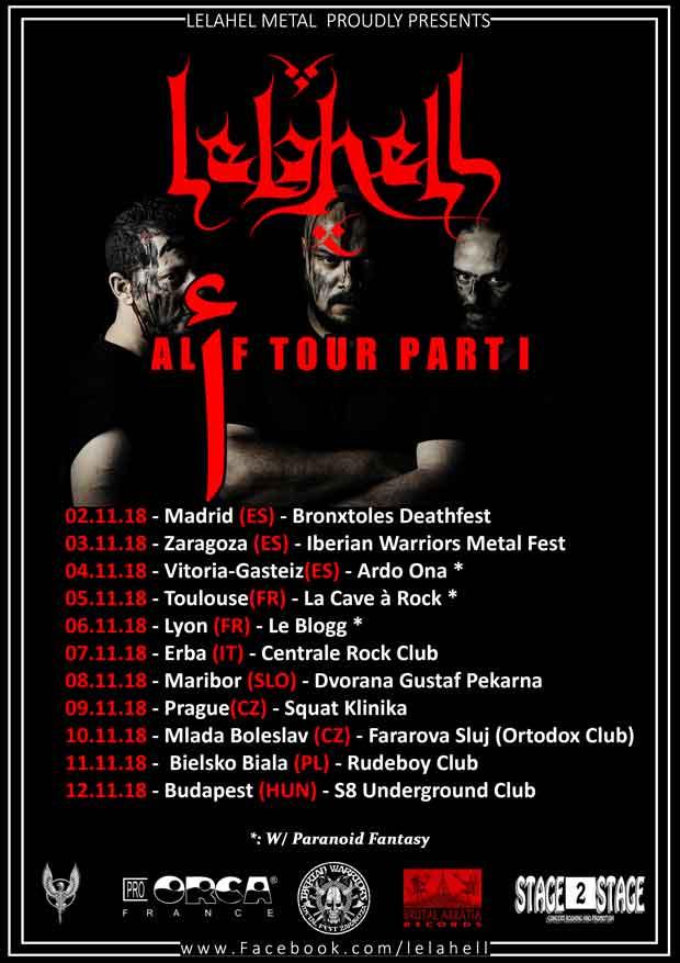 Lelahell-tour