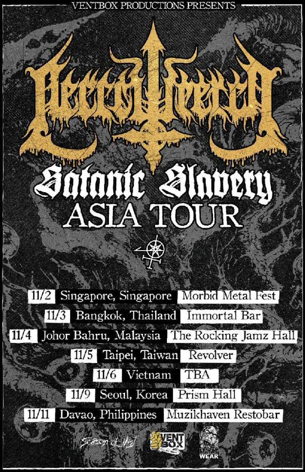 NECROWRETCH-Asiantour
