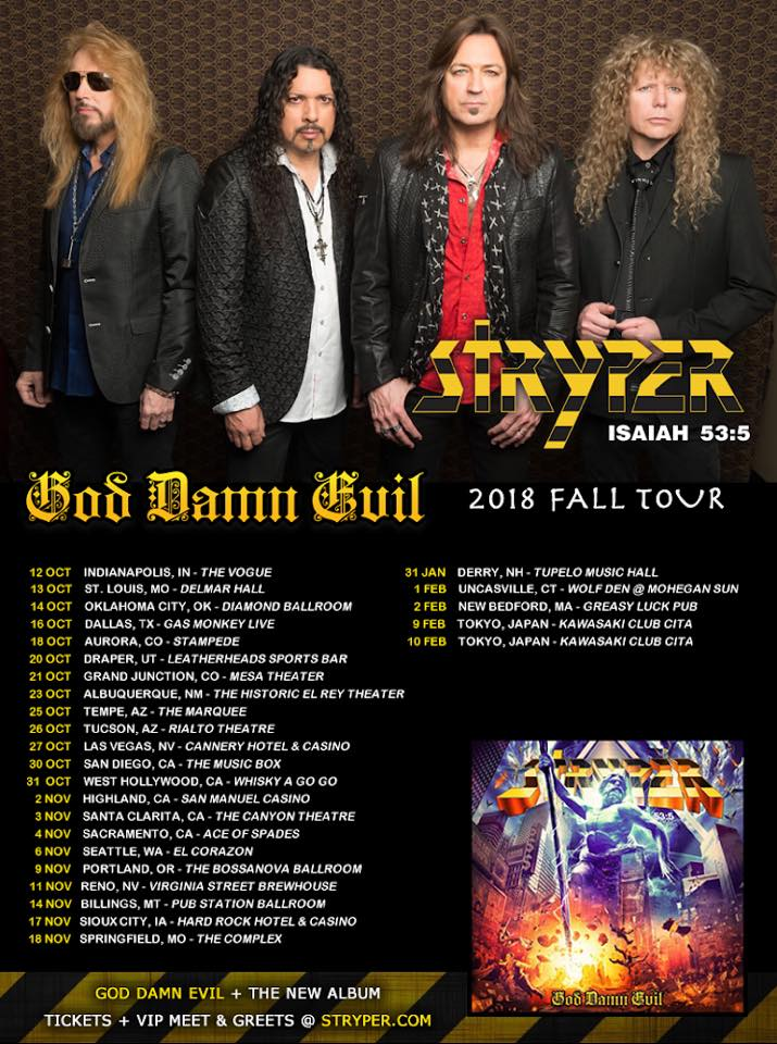 Stryper-tour