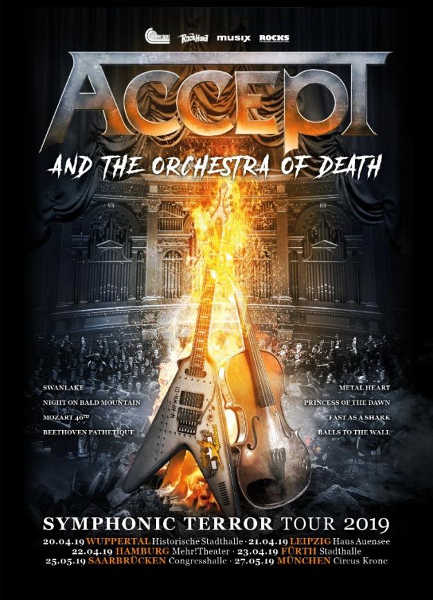 Accept Symphonic Terror Tour 2019