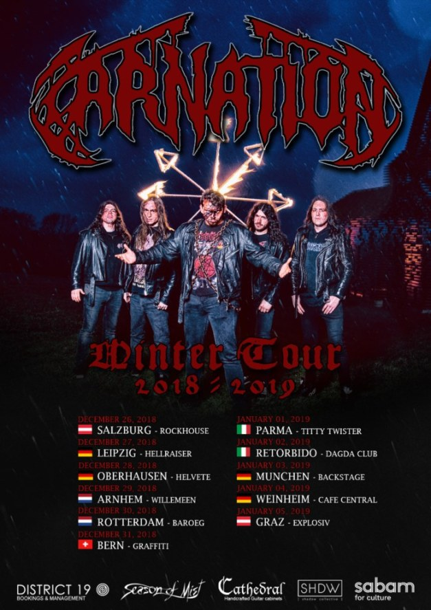 Carnation-tour