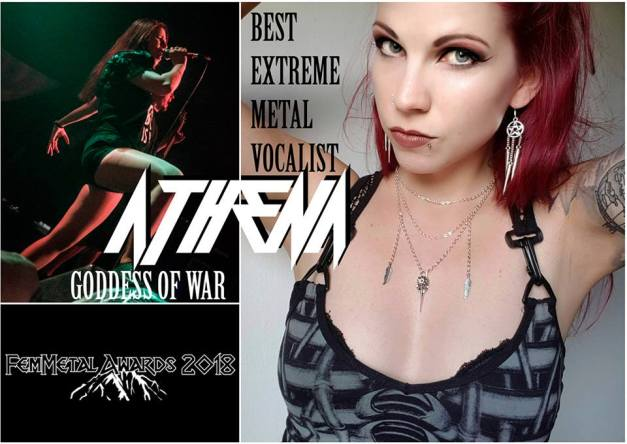 DyingGorgeousLies-Liz-ATHENA - Best Extreme Metal Vocalist