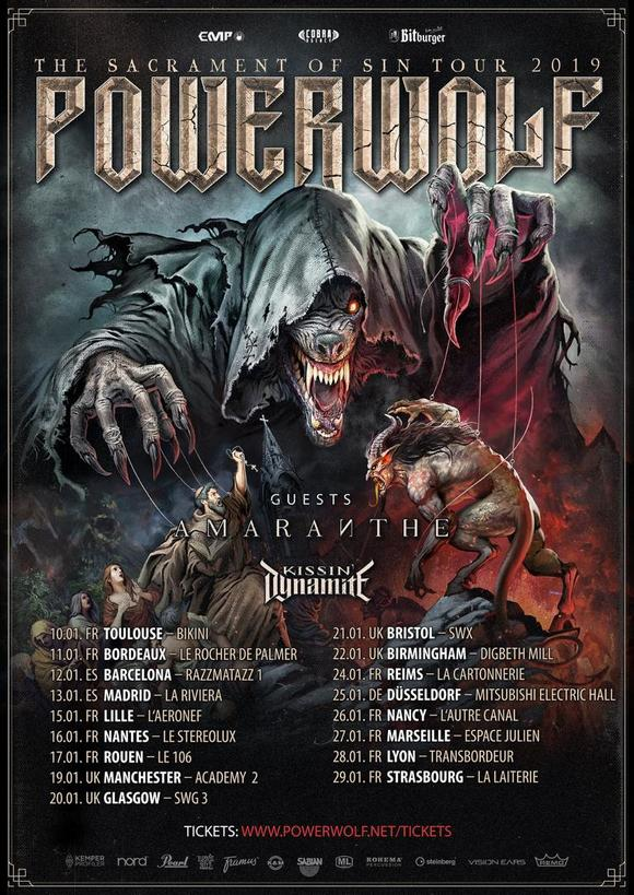 Powerwolf-tour