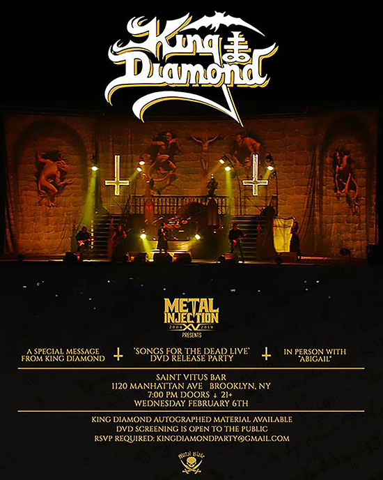 king-diamond-flyer