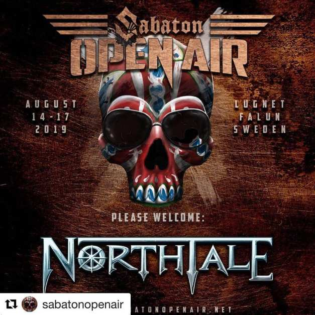 Northtale-SabatonOpenAir-Officialflyer