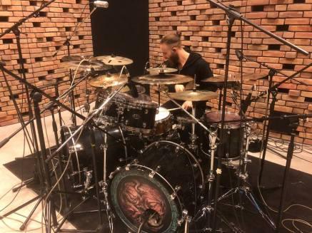 Vader-James-in-studio
