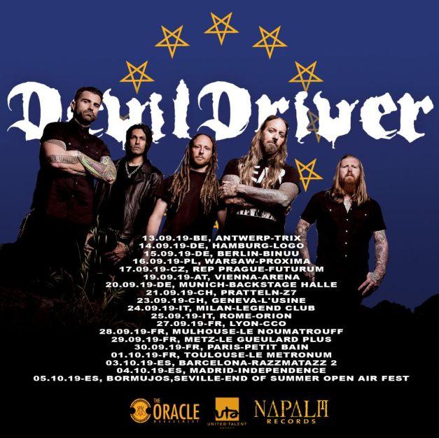 Devildriver-EU-tour