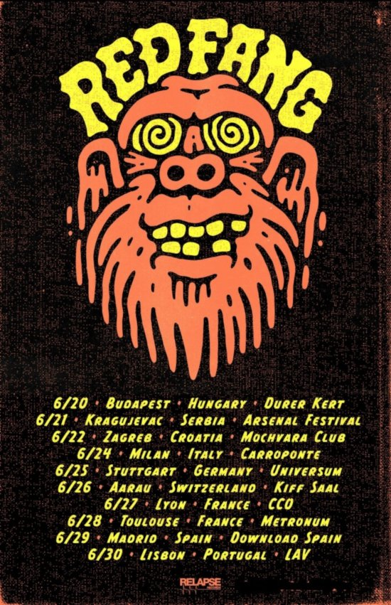 RedFang-Eu-Summer-tour