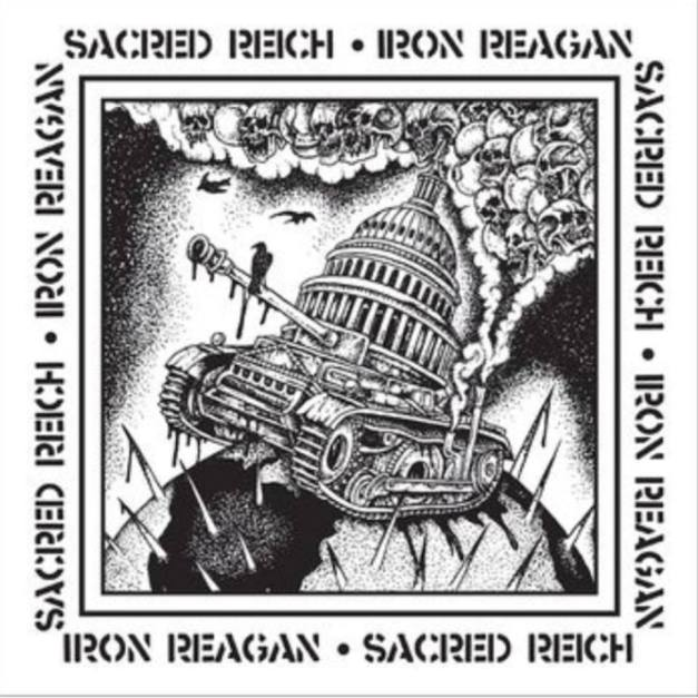 SacredReich-IronReagan-split