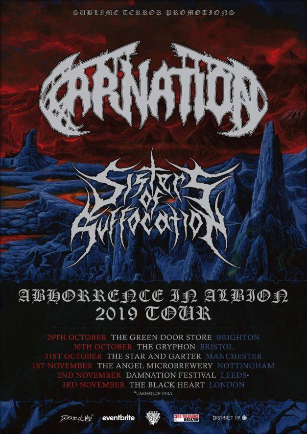 Carnation-UK-tour