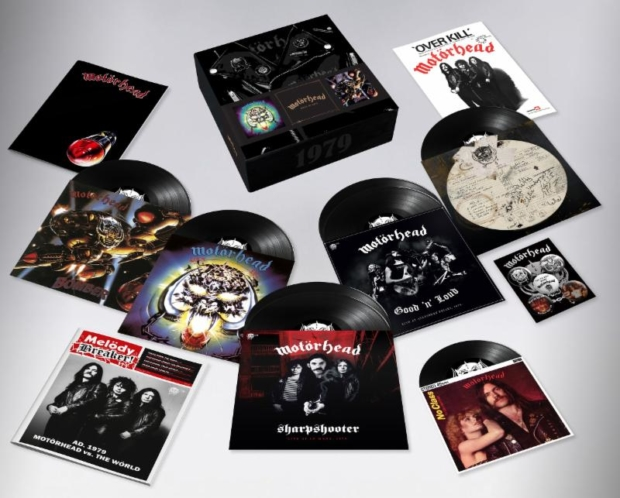 MOTORHEAD-Deluxe-CollectorsBox-Set