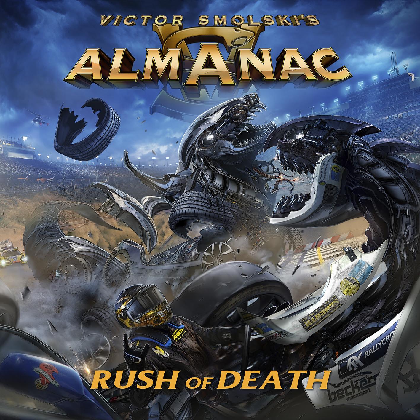 Almanac Rush Of Death Cover Art