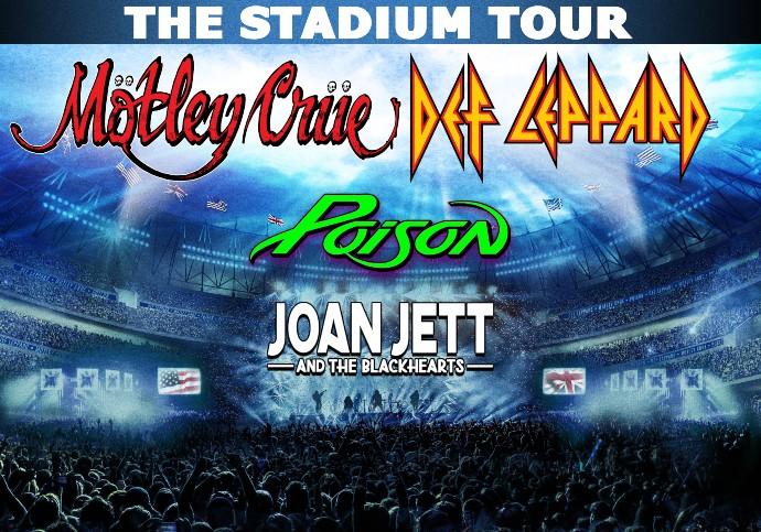 Mötley Crüe - Def Leppard - Poison - Joan Jett