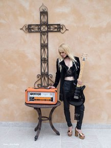 Orianthi - Photo Credit Ross Halfin