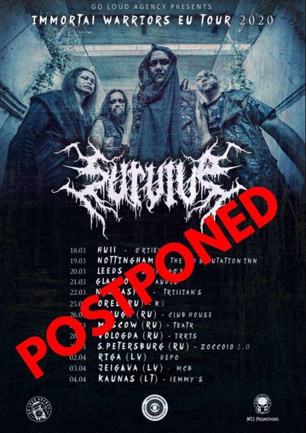 Survive-eu-tour-postponed