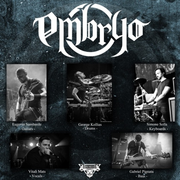 EMBRYO-album-lineup
