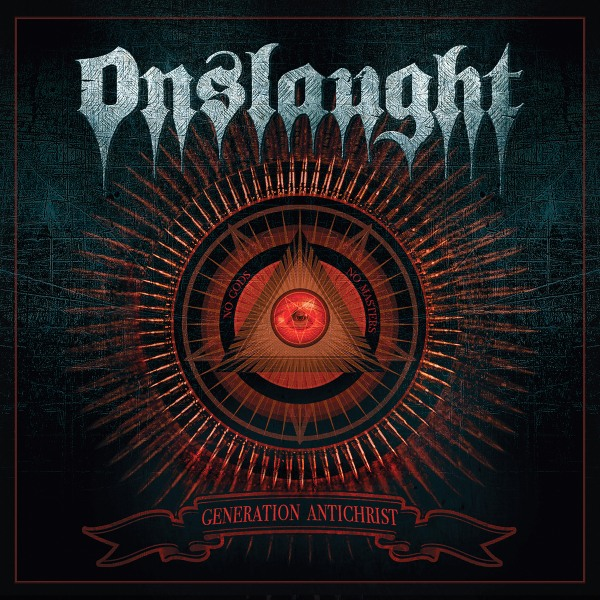 ONSLAUGHT - GENERATION ANTICHRIST ARTWORK