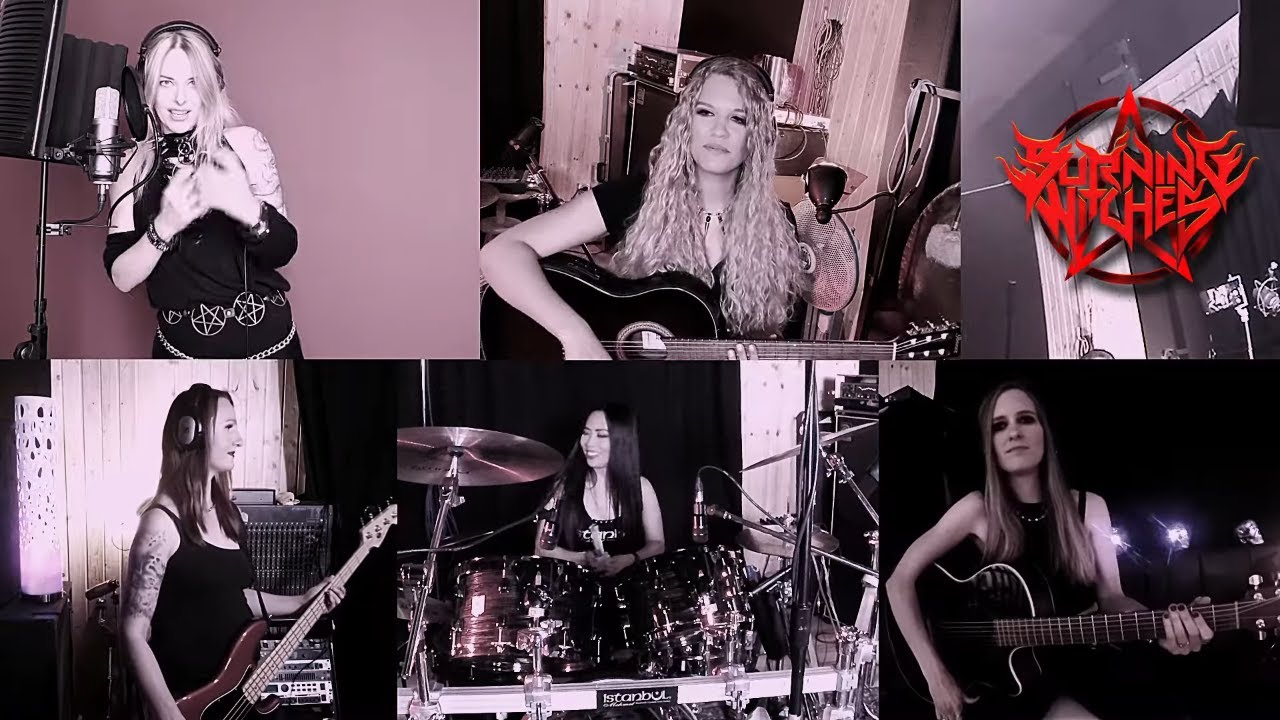 BURNING-WITCHES-live-stream-video