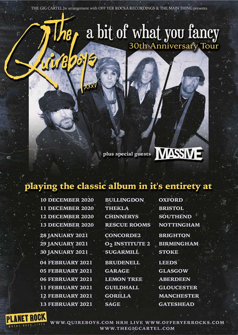 TheQuireboys-tour-poster