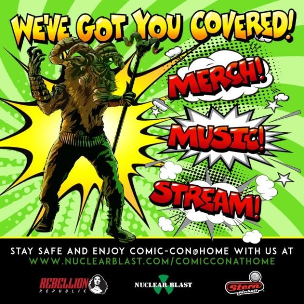 NuclearBlast-ComicCon